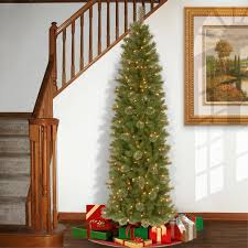 buy the 7 5 ft pre lit tacoma pine pencil artificial christmas
