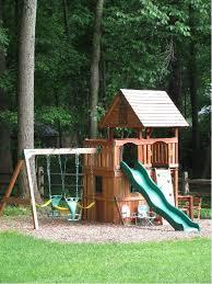Small Backyard Playground Ideas Small Backyard Playsets Crafts Home