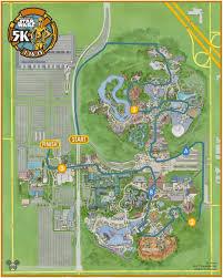 Map Of California Adventure Star Wars Half Marathon Maps Kessel Runnerthe Kessel Runner