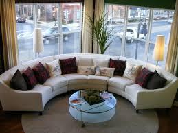 Curved Sofa Sectional Round Sofas Sectionals Cleanupflorida Com