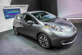 leaked photos of nissan leaf indicate mass market styling wsj