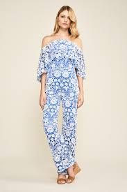 lace jumpsuits jumpsuits suits one tadashi shoji