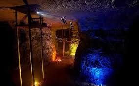 Wildfire Yoga Lexington Ky by Inside Mega Cavern Louisville U0027s Underground Zip Line Course
