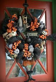 halloween wreath the witch is in diy halloween wreath hometalk