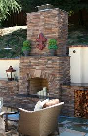 outdoor fireplace idea gallery u2014 south county rockery