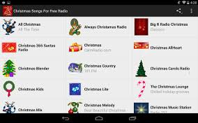 christmas songs for free radio android apps on google play