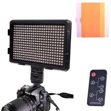 remote audio video lighting hd 360ii 180 white light 180 warm white light led video light on