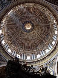 chi ha progettato la cupola di san pietro basilica di san pietro in vaticano