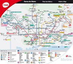 Barcelona Metro Map by Tmb Metro Map U2013 Ramblersabroad