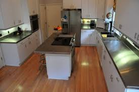 stainless steel countertop with sink sinks counter tops backsplash rd herbert sons