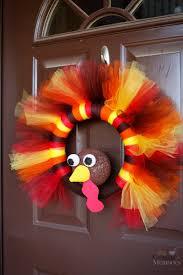turkey tulle wreath best thanksgiving wreath for your door