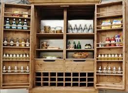 Oak Kitchen Pantry Cabinet Unfinished Wood Kitchen Pantry Cabinet With Closed Doors Kitchen
