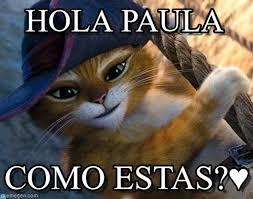 Gato Meme - hola paula gato con botas meme on memegen