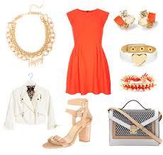 how to wear the color blood orange in good taste