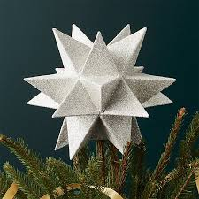 tree topper moravian silver tree topper hymns and verses