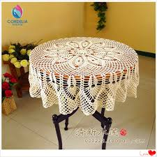 beautiful table cloth design beautiful design hook needle crochet large dining table cloth 100