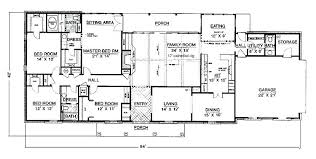one house plans with 4 bedrooms 4 bedroom one house plans single 4 bedroom house plans