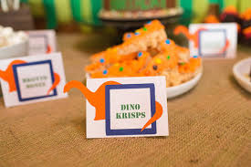 Jurassic Park Decorations Dinosaur Party Food Labels Dinosaur Place Cards Jurassic