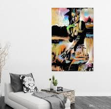 2017 vintage home decor canvas art abstract girls oil