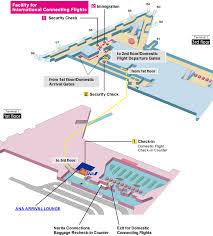 Narita Airport Floor Plan Narita Airport Guide Ana