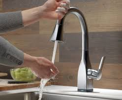 delta free kitchen faucet best touch activated kitchen faucet free 3 verdesmoke delta
