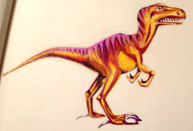 drawing dinosaurs a colored pencil how to for kids and adults