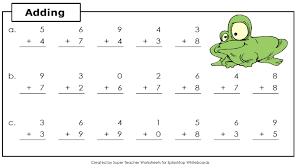 geography blog math addition worksheets basic kindergarten koogra