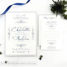 Snowflake Wedding Invitations Winter Snowflakes Wedding Invitations U2013 The Cross Eyed Fox