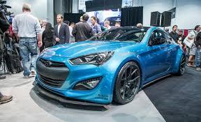 hyundai elantra mods hyundai mods another genesis coupe for sema car and