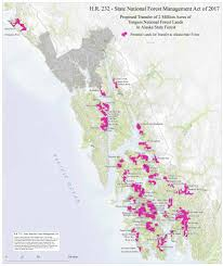 Southeast Alaska Map Tongass Giveaway H R 232 Southeast Alaska Conservation Council