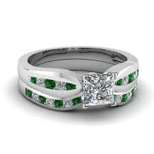 Vintage Wedding Ring Sets by Shop For Rare Emerald Jewelry Fascinating Diamonds