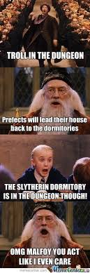 Omg No One Cares Meme - omg malfoy draco harry potter and harry potter things