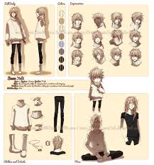 character profile commission snow yuki by kodamacreative on
