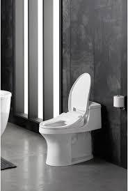 Kohler Bidet Toilet Seats Kohler K 18751 0 White C3 050 Elongated Bidet Seat With Quiet