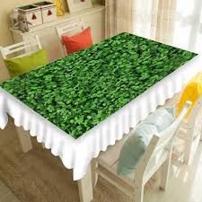 Round Kitchen Table Cloth by Grass Tablecloth Grass Decorations Inspirations