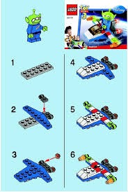 lego cute aliens space ship instructions 30070 toy story