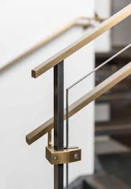 Stair Banister Glass Oak Spine Stairs With Glass Balustrade And Landing Custom Built