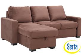 modern futon brown futon sofa sleeper chester serta dream sleeper the futon shop