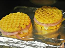 Toaster Waffles Make Ahead Frozen Waffle Breakfast Sandwiches I U0027m Not The Nanny
