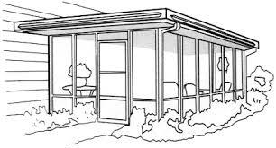 Aluminum Patio Enclosure Materials Porch Enclosure Materials