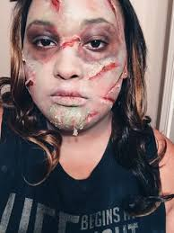 Exorcist Halloween Costume Exorcist Inspired Makeup Mikayla Nicole