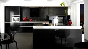 Black Gloss Kitchen Cabinets 15 Black And Gray High Gloss Kitchen Designs Home Design Lover