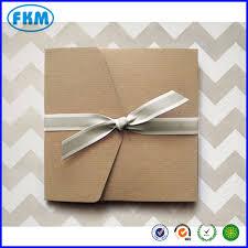 Wedding Pocket Envelopes 60 Large Ribbed Kraft Pocket Fold Envelopes Rustic Wedding