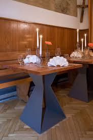 Moderner Esstisch Holz Stahl Best 25 Tischgestell Stahl Ideas On Pinterest Tischgestelle