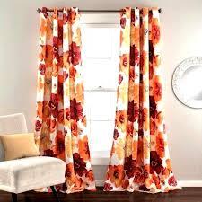 Burnt Orange Kitchen Curtains Decorating Fabulous Orange Kitchen Curtains Drapes Int Burnt Orange Paint