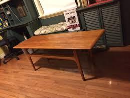 danish modern teak floor l large mid century modern coffee table made in denmark 525 teak