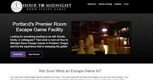 Locked In Room Games - hour to midnight room escape games portland oregon