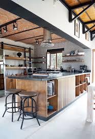cuisine style indus une cuisine au style industriel une verri re pour un of cuisine