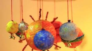 diy solar system wind chime project youtube
