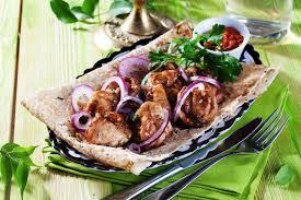 recette cuisine grecque recette souvlakis à la grecque
